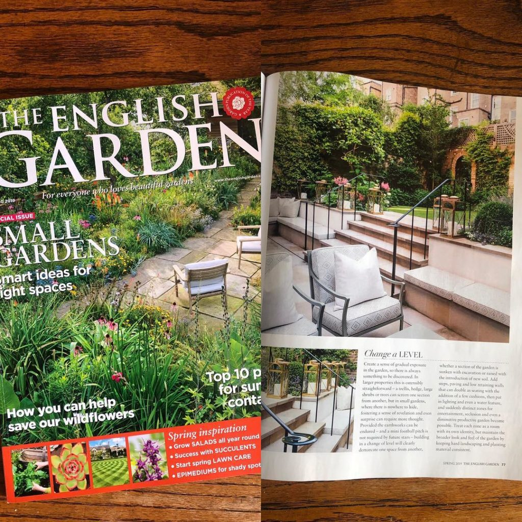 It's been a good couple of weeks for publicity. Fantastic that one of my gardens...