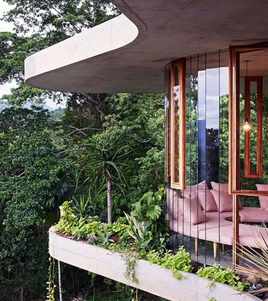 Adult treehouse with indoor and outdoor plants? Sign us up. Photo by @seanfennes...