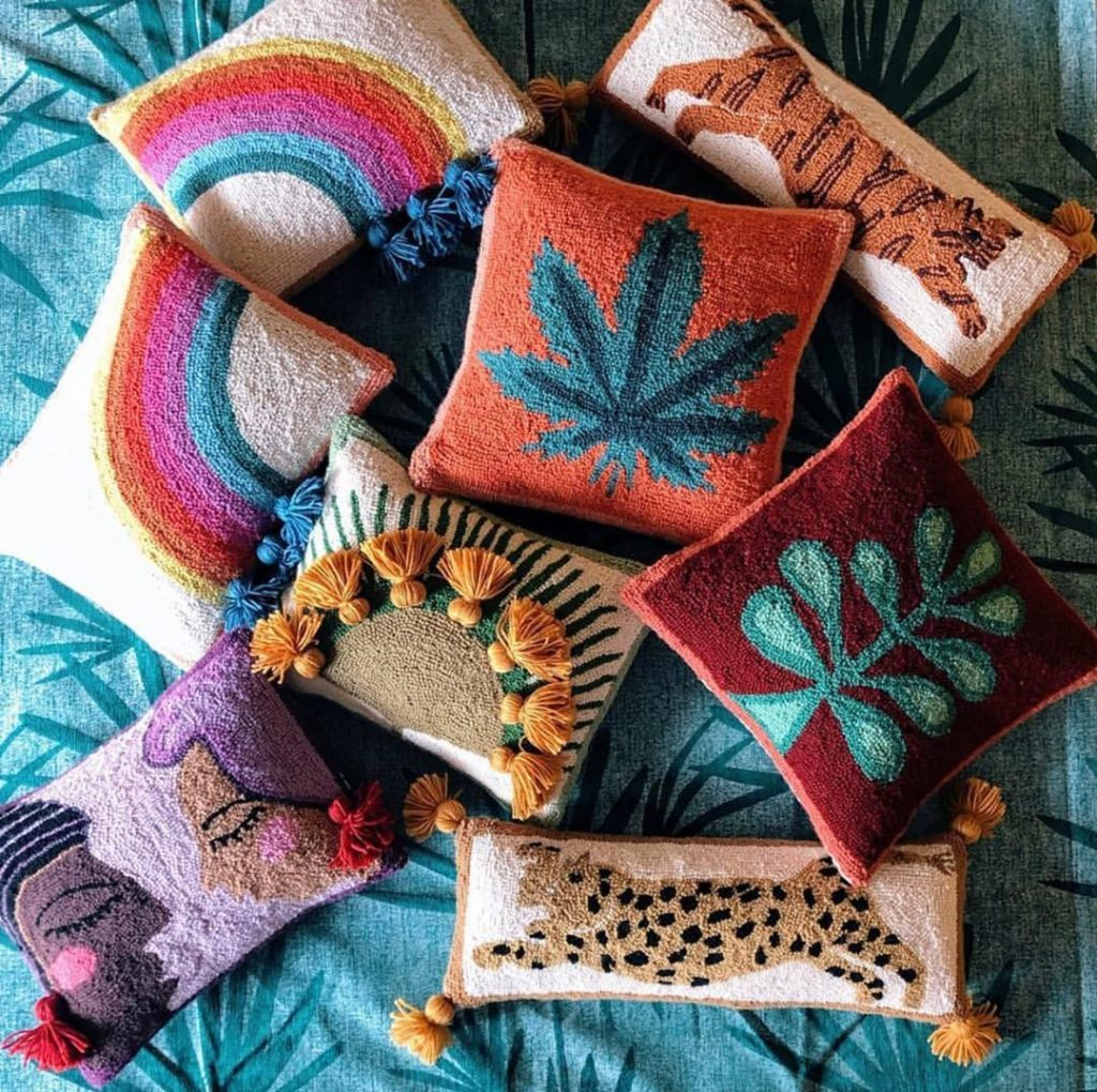 Psssst! Have you heard? Our best selling Tiger + Mary Jane pillows are back in s...