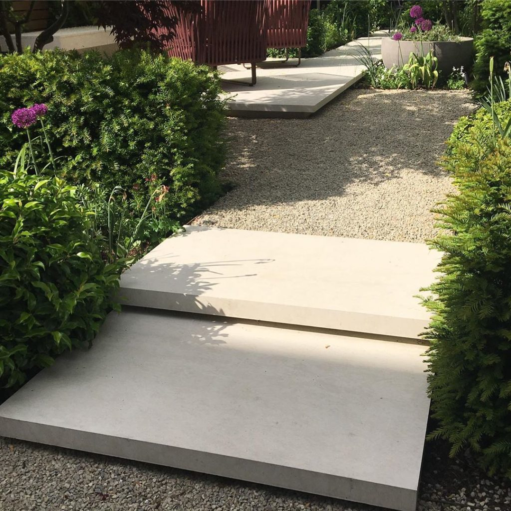 #stepdetail in a new #garden #makesadifference #towngarden #designisinthedetails...