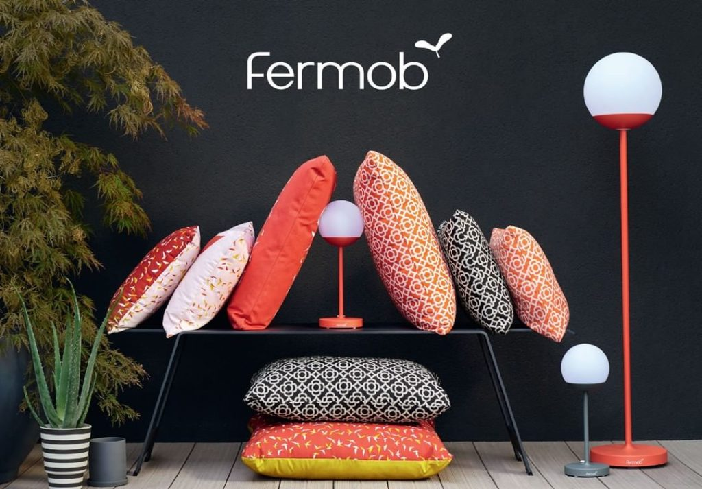 The new Mooon! lighting collection from fermobUSA is inspired by 19th century st...