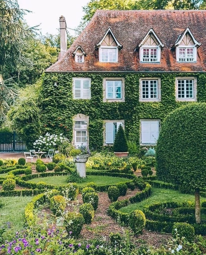 The dream home of all dream homes.  Photo by @mary_quincy via @townandcountrymag...