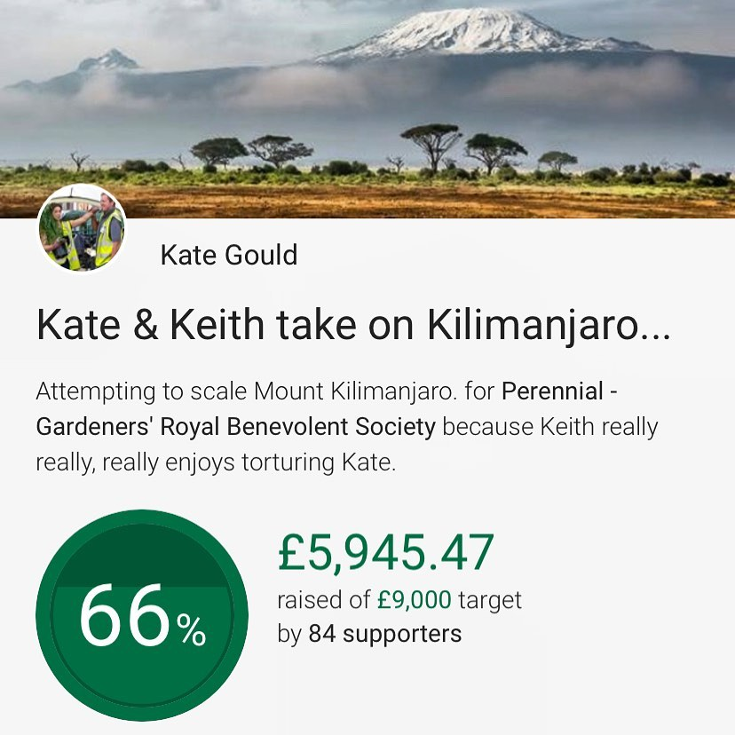 WOW... an enormous THANK YOU  to everyone who has pushed our total closer to the...
