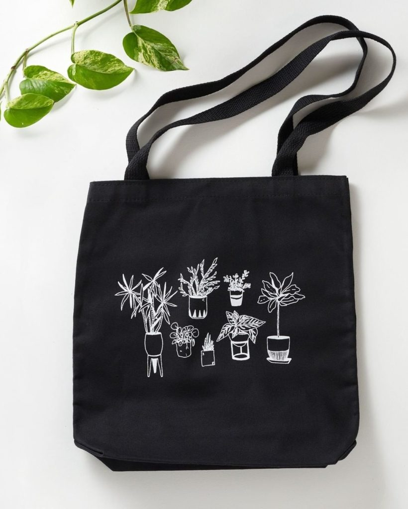 There's nothing better to go with your houseplants than a houseplants tote.  Get...