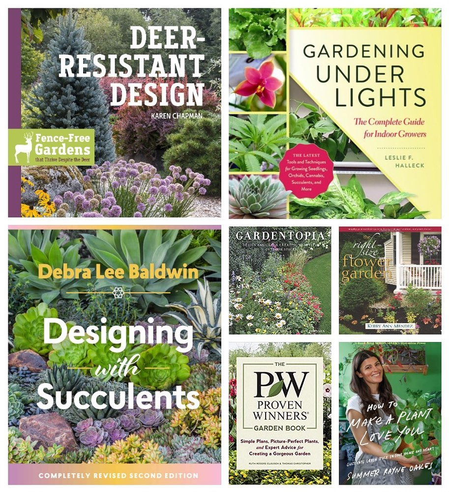 What are your favorite gardening books? . Today is #bookloversday, here's some o...