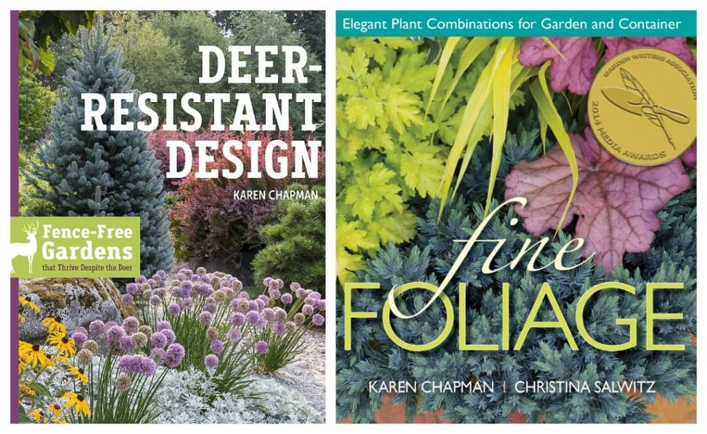 2 gardening books we love, what are yours? . Both available in our bookstore, li...