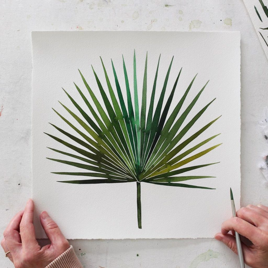 Just finished this palm experiment using multiple colors. I feel like I found so...