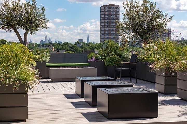 Great post on the Battersea Roof Terrace I worked on with @granitarchitects and ...