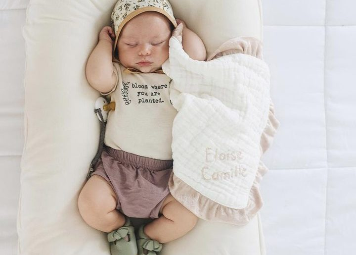Start 'em young.  Get your little one botanical onesies for an adorable addition...
