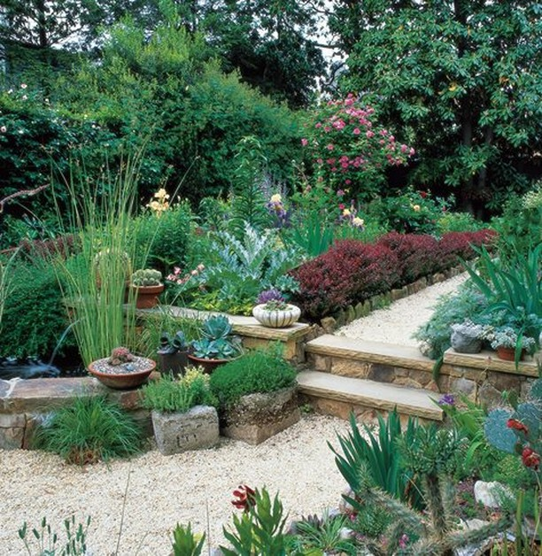 Seven tips for designing a small garden: 1. Start with the house 2. Design for f...