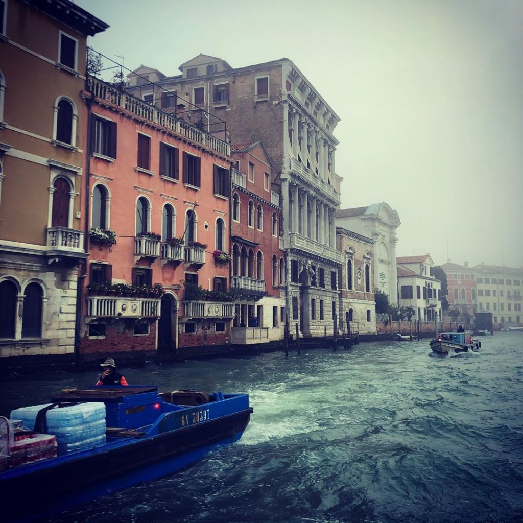 Leaving on a misty morning after 3 spectacular days Venice as magnificent as eve...