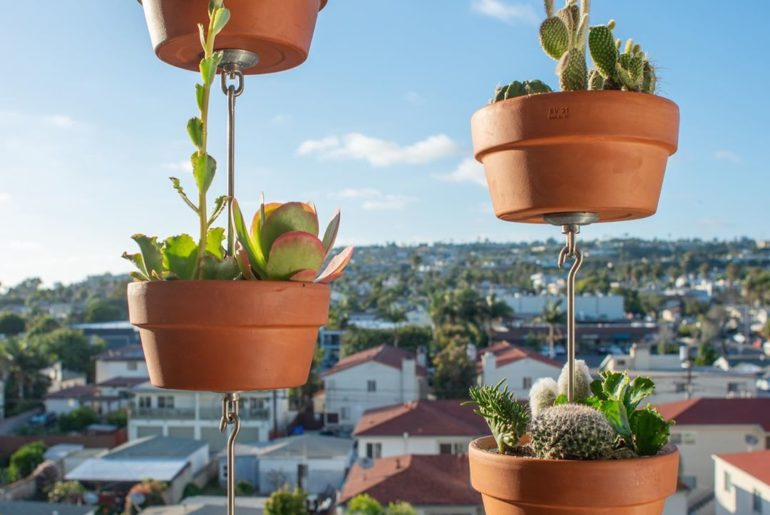 Get ready to enjoy the view with SkyPots  Perfect for balcony gardens! 9 days un...