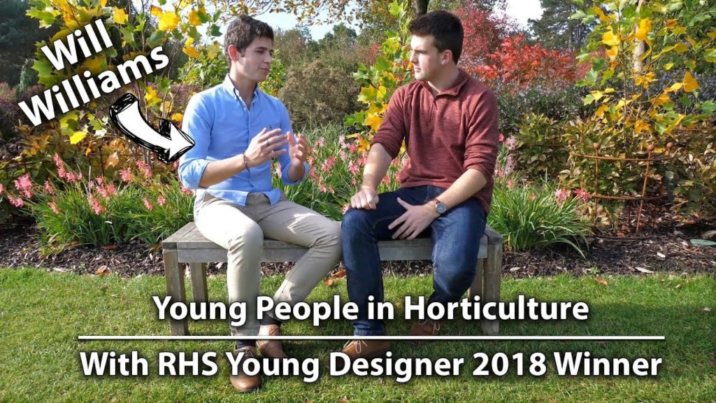 The Future of Horticulture and RHS Young Designer Competition (ft. Will Williams)