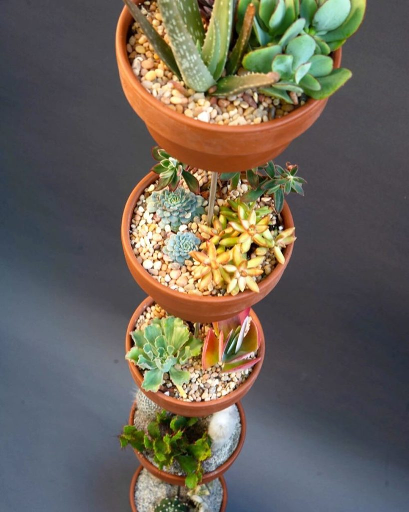A SkyPots five-stack  It's an all-new way to garden in 2020 — Exciting product a...