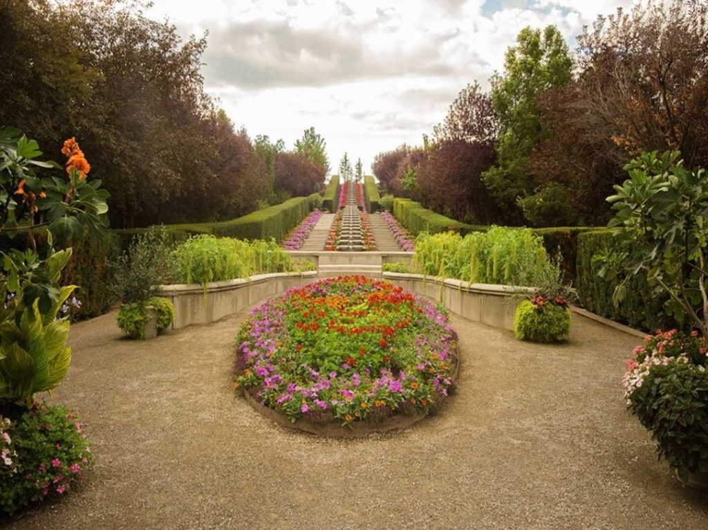 The Ashton Garden at thankspoint in Utah features 15 themed gardens, have you be...
