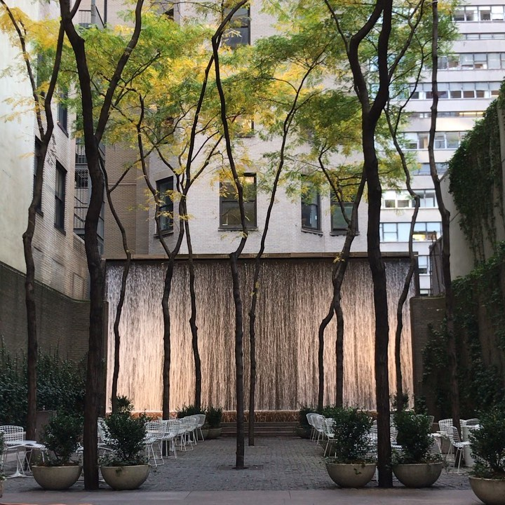Pocket perfection #paleypark #nyc #zionbreenrichardsonassociates #publicrealm #p...