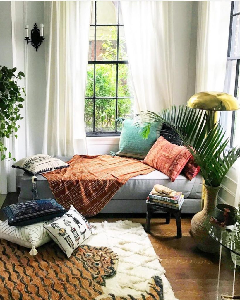 What would you do in this cozy corner? I'm thinking I'd listen to the How I Buil...