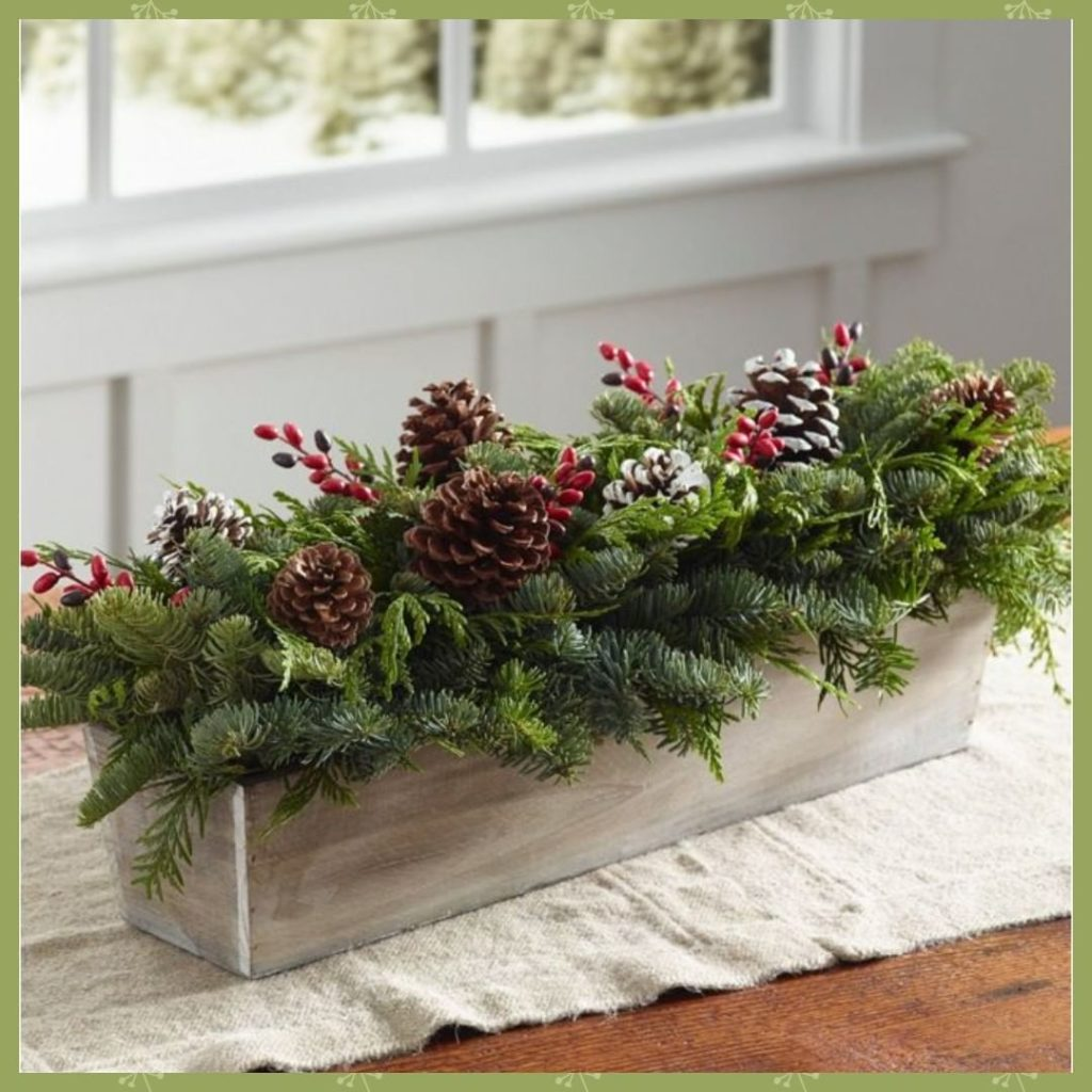 Enter to win this fresh centerpiece to add some holiday cheer to your table! . A...