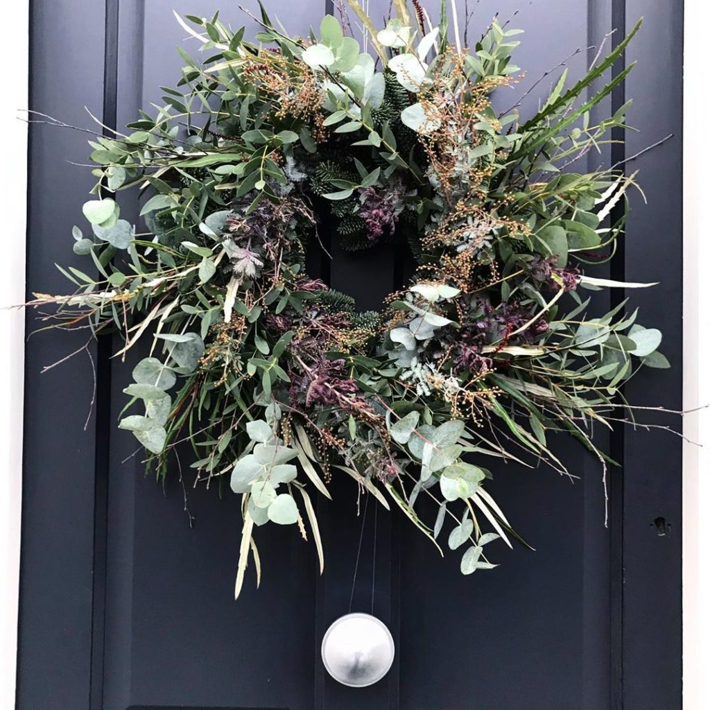 This year's model... obligatory #wreath making #xmaswreath #homemade #christmas ...