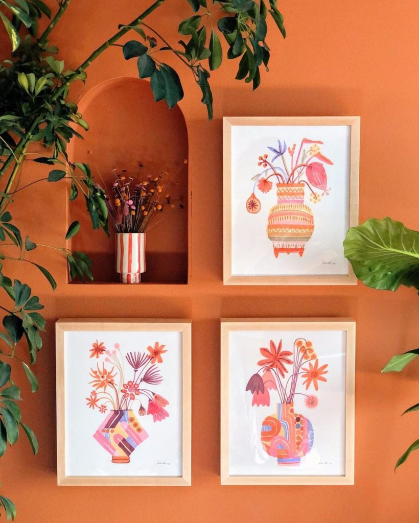 Flores, Fleurs, or Fiori?  What kind of flower vibe are you digging? Flower art ...