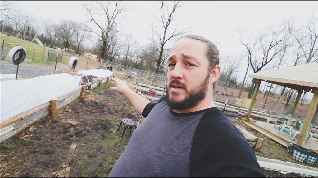 Putting Row Covers on our Raised Beds | VLOG