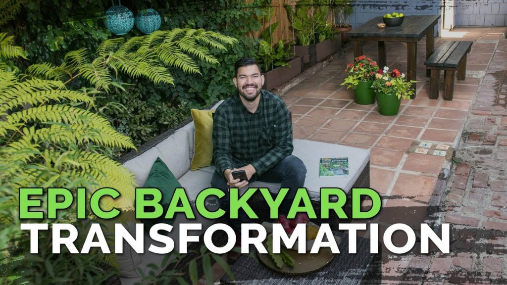 Backyard Garden Makeover - Creating a Shady Zen Oasis (Before & After)