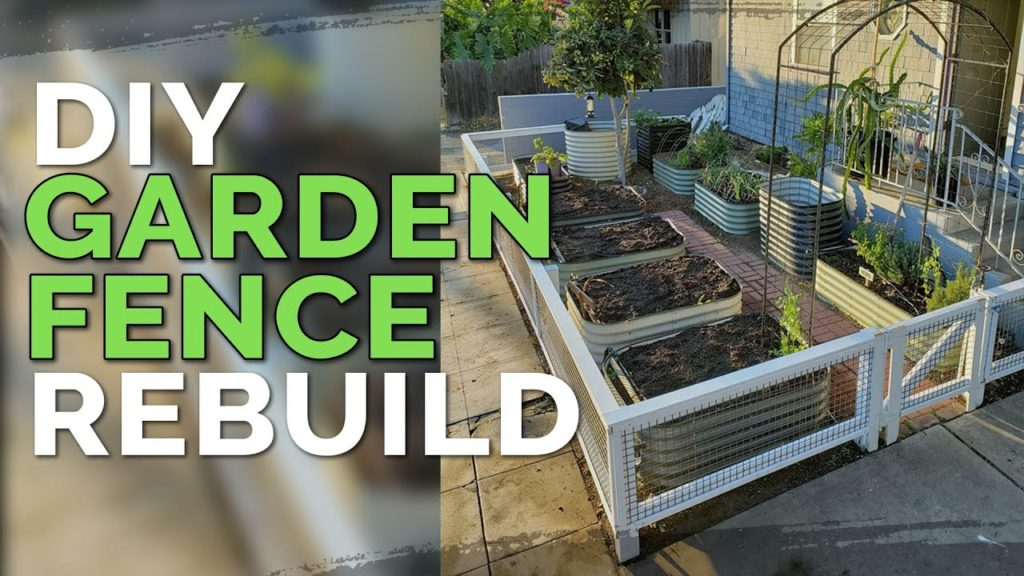 DIY Garden Fence Build | Multi-Purpose Fence Design (Before & After)