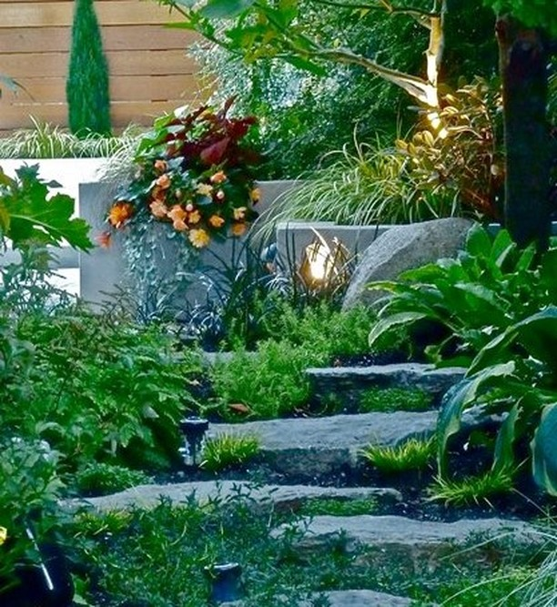 Garden Design Tip: Use planters and pathways to lure the eye. . Learn more about...