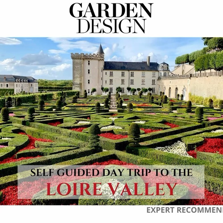 The gardens of Loire Valley, France are waiting for you... . See more of these g...