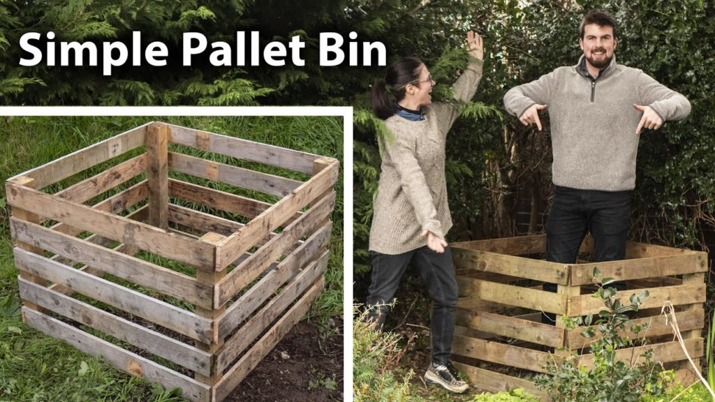 How to Make a Compost Bin the Easy Way from Pallets (feat. Jack Monroe)