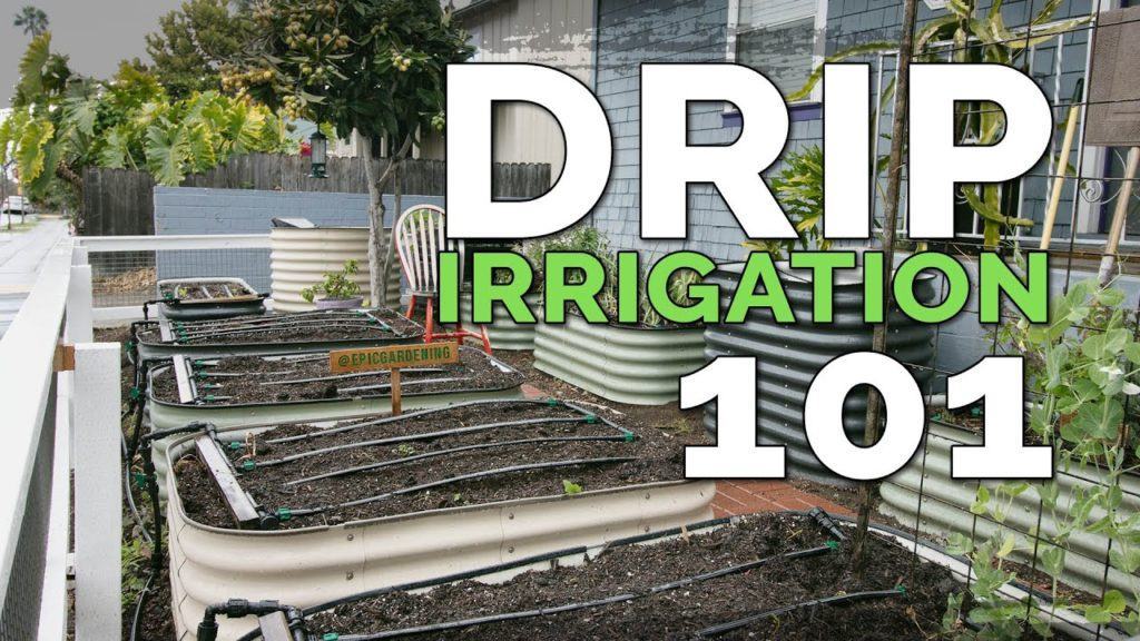 EPIC Drip Irrigation System for Raised Beds 💦 (Before & After)