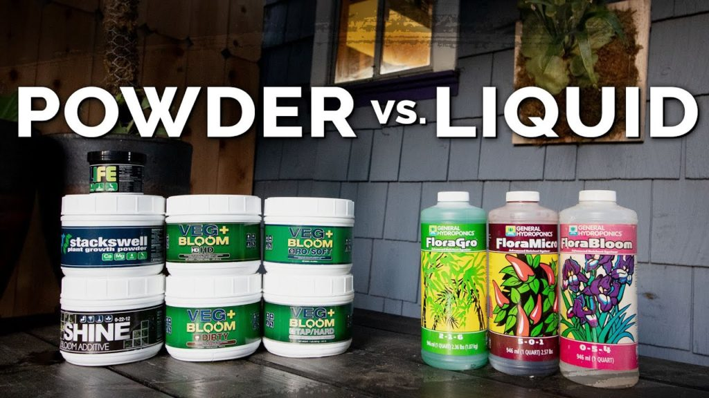 Dry vs. Liquid Hydroponic Nutrients: Pros and Cons
